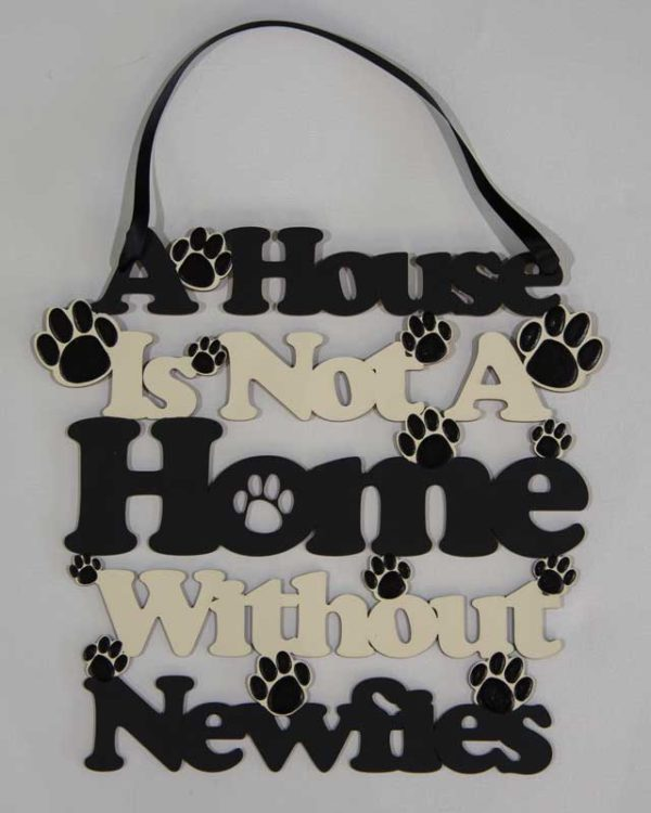 A House Is Not A Home wall hanging