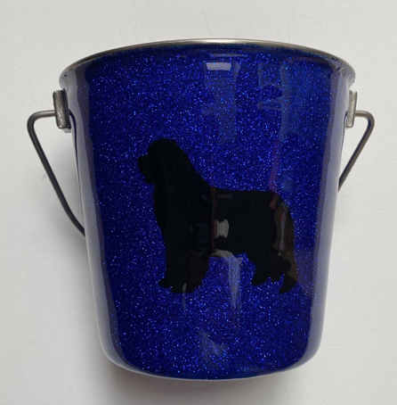 Glitter Bucket in Blue